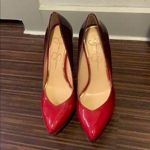 Ombré Jessica Simpson platform heels